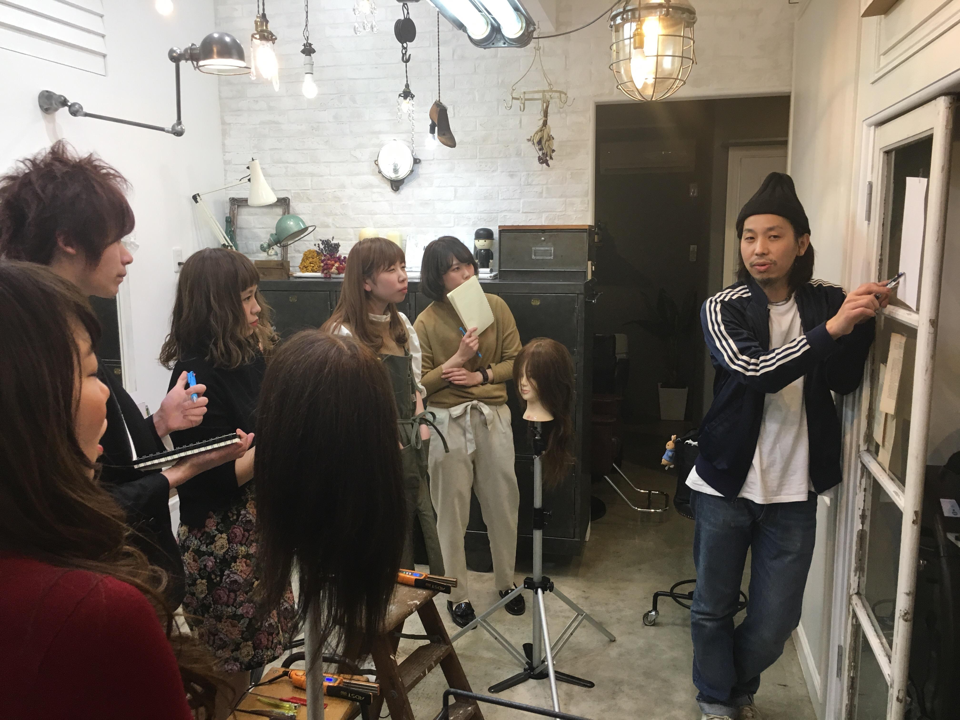 太田の美容室合同レッスン会